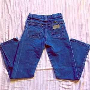 Vintage Wranglers blue jeans